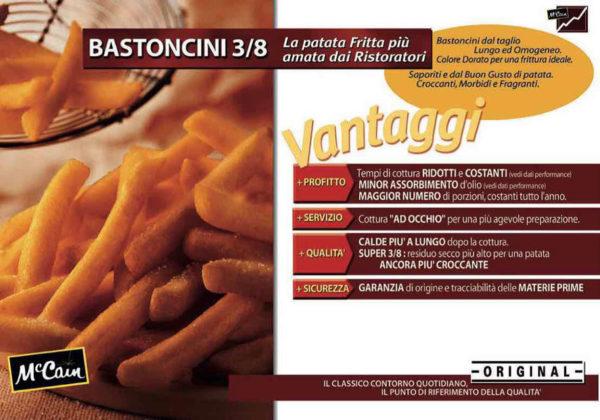 BASTONCINI 3/8 PATATE FREEZE CHILL