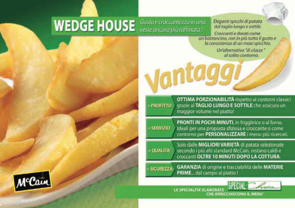 PATATE WEDGE HOUSE