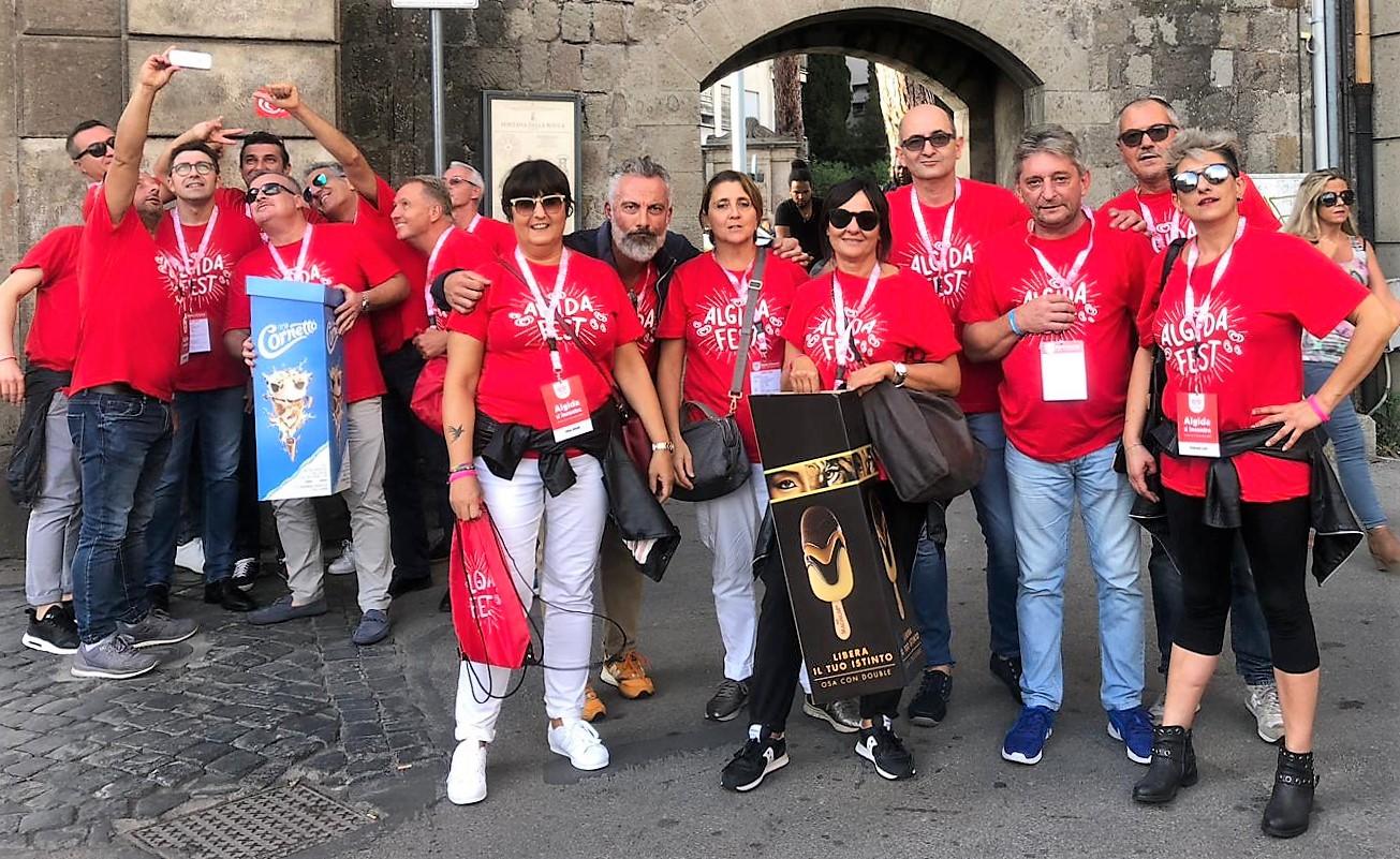 ALGIDA FEST DI VITERBO: SENIOGEL PRESENTE!